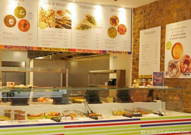 Din Din Food counter