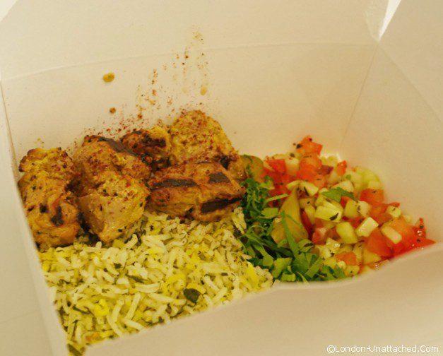 Din din - Grill - chicken skewers