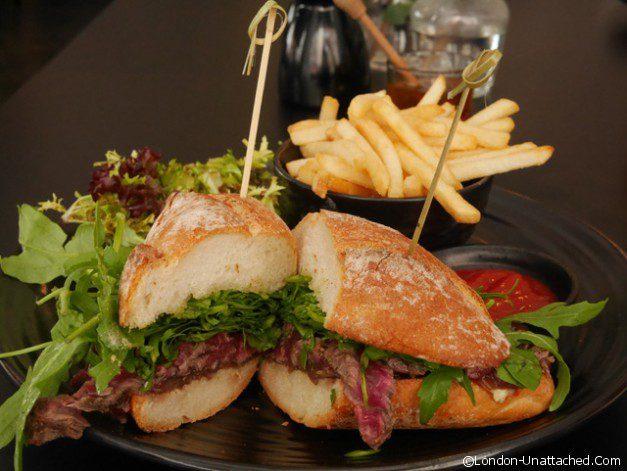 Drunch - Steak Sandwich