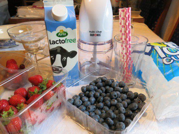 Lactofree Smoothie Ingredients