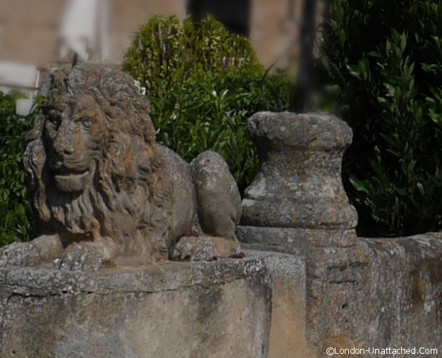 Lion at Castillo de Buen Amor