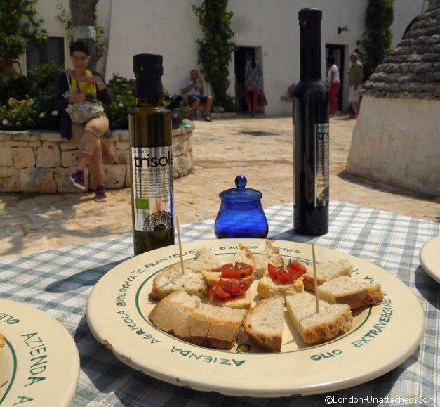Masseria Il Frantolio - tasting