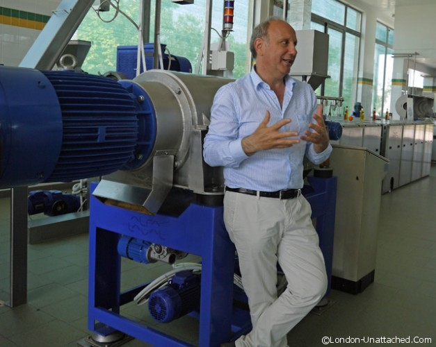 Masseria Il Frantolio - the centrifugal press