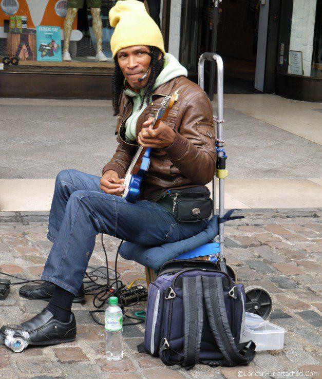 Musician Covent Garden