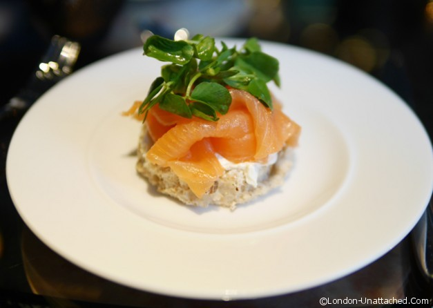 Playboy club London Smoked Salmon