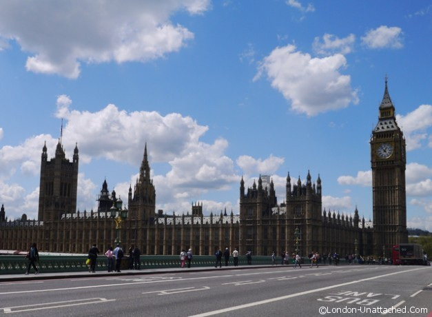 The Houses of Parliament and Big Ben London-Unattached