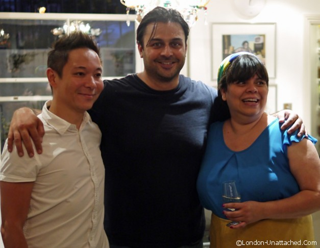 Tilda Brazilian Evening Druv, Rosanna and Luis