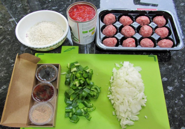 simply cook 3 cajun meat balls