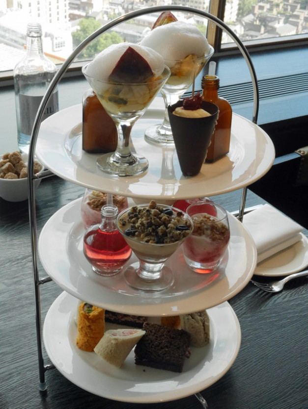 AFternoon tea at the Paramount - Cakes and Savouries