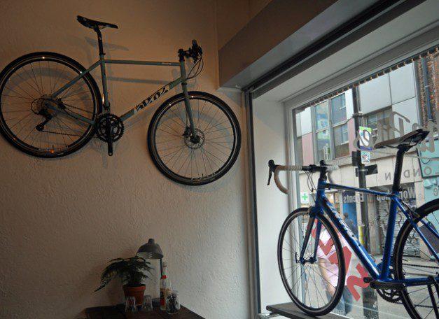 Bikes at Soho bikes