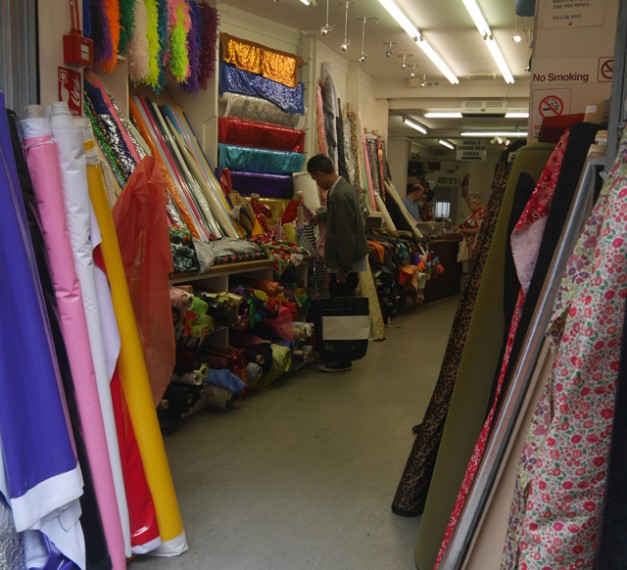 Fabric Shop - Berwick Street