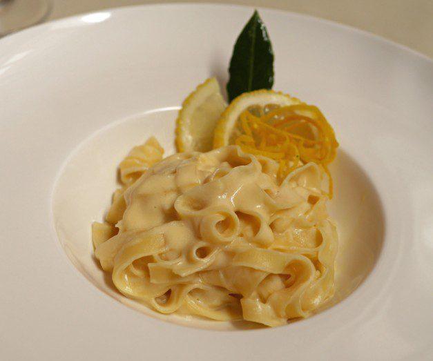 Lemon Tagliatelle