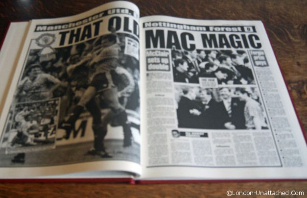 Manchester United one hundred year book