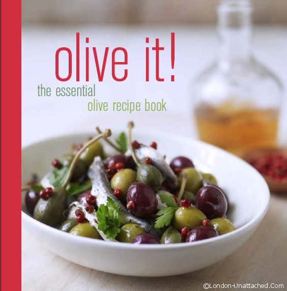 Olive it! recipe book - front cover