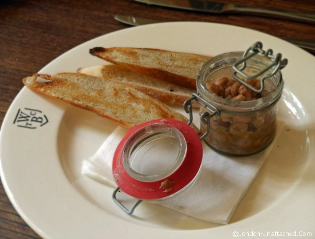 Potted shrimps - the Hare