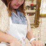 Olive-it - chopping chorizo