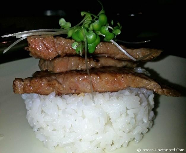wagyu beef-cooked - Benihana
