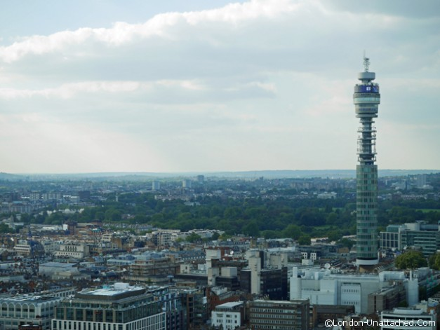 BT Tower from the Paramount