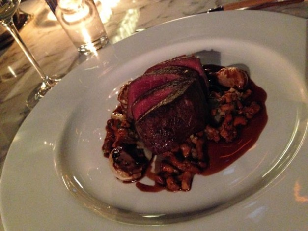 Beef fillet at Plateau