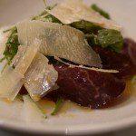 Carpaccio of Beef Hotel du Vin