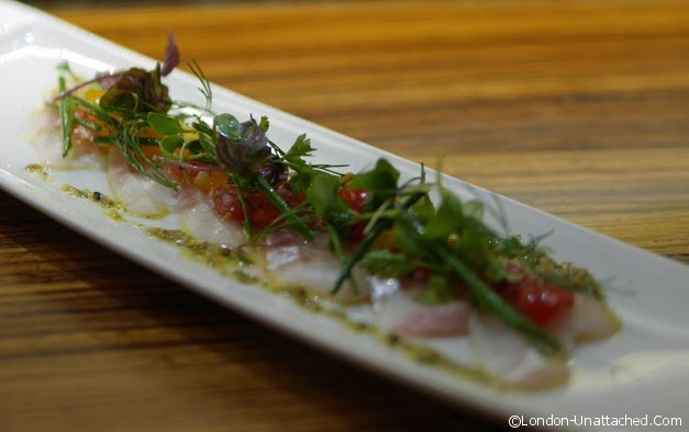 Kouzu - Seabass with Salsa
