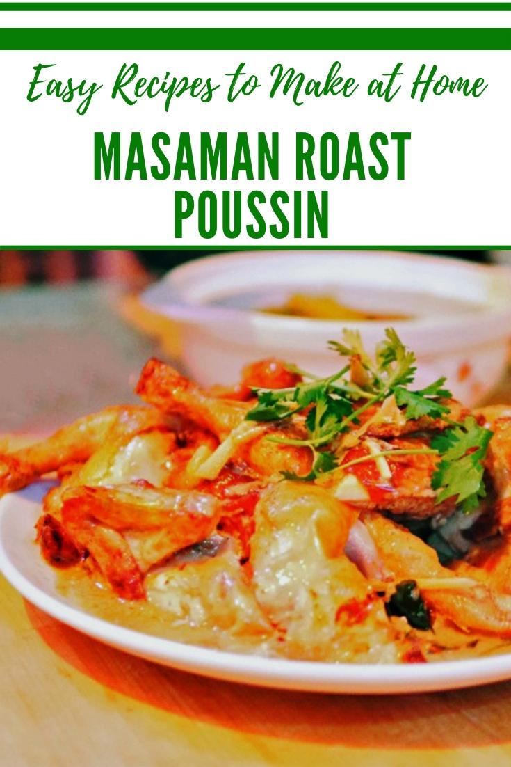 Masaman Roast Poussin