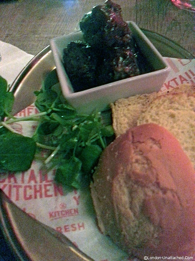 Meatballs and Brioche at Revolution