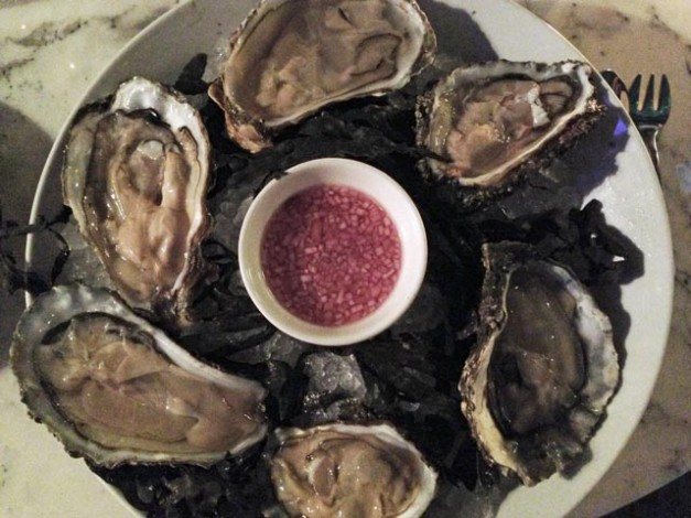 Oysters at Plateau