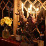 Peat Spade Candlestick