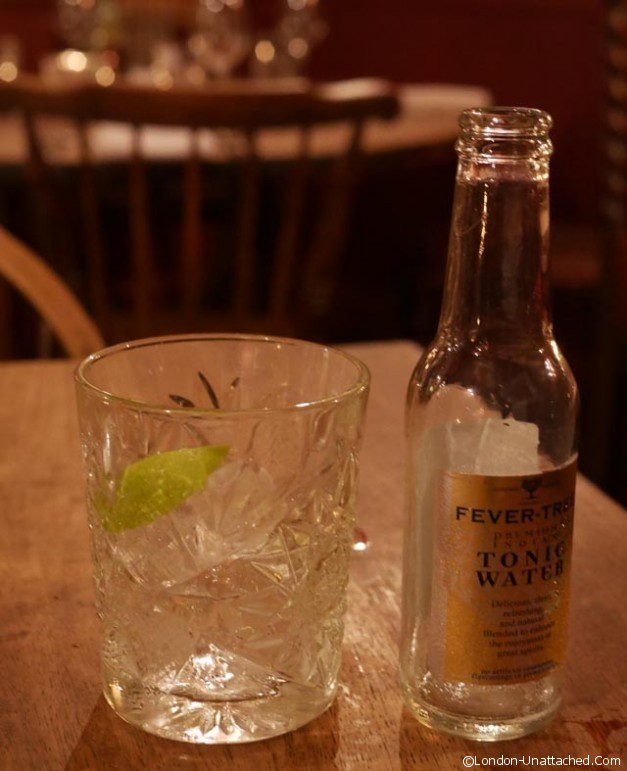 Peat Spade Gin and Tonic