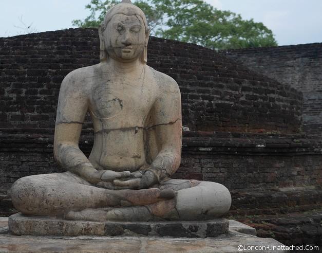 Polunnaruwa buddha