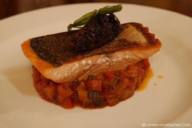 Salmon - hotel du vin