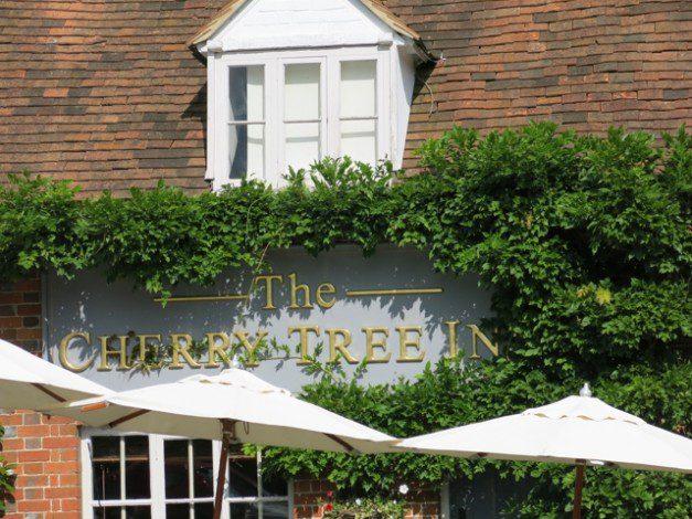 The Cherry Tree Inn Sign