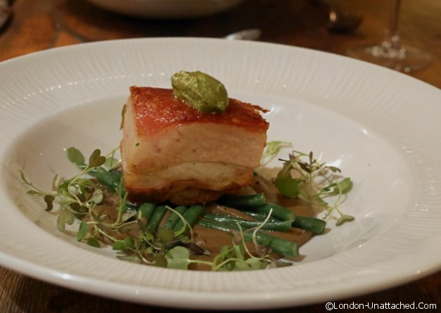 The Old Manor - Pork Belly