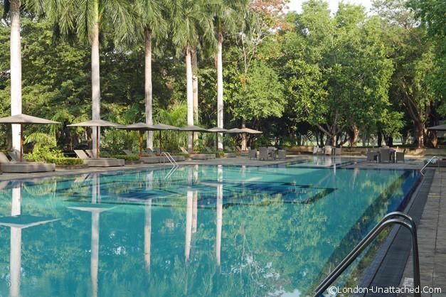 The Pool Habarana Lodge