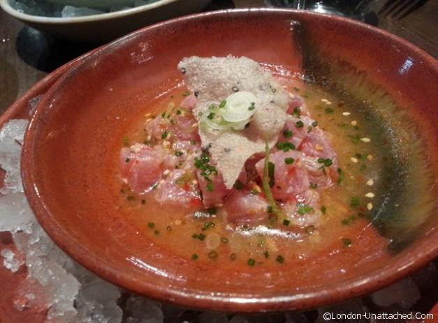 Tuna Ceviche at Coya