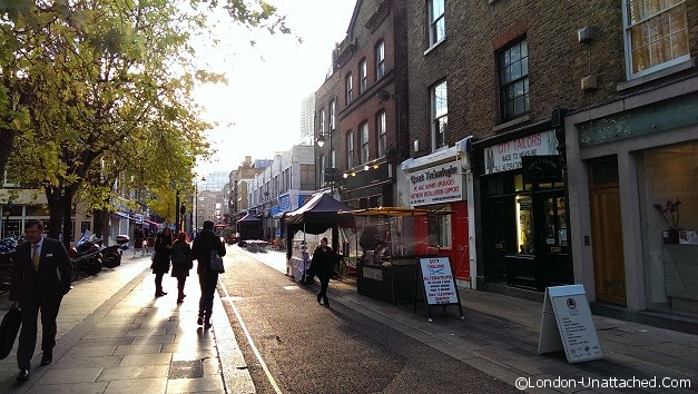 Hoxton in the morning
