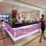 Jumeirah Carlton Tower - The Peak Health Club _ Spa - reception