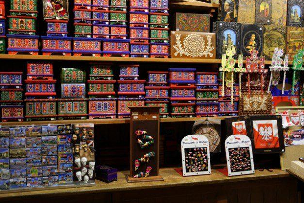 Poland Krakow Market Boxes