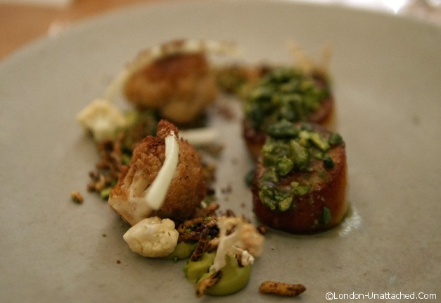 five fields - scallop