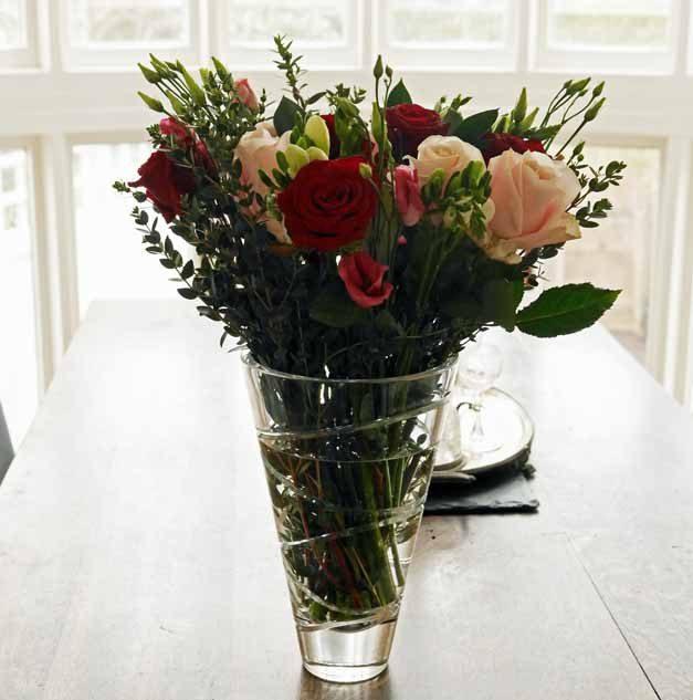 Appleyard Bouquet on Table