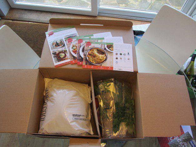 Gousto Packaging - open box