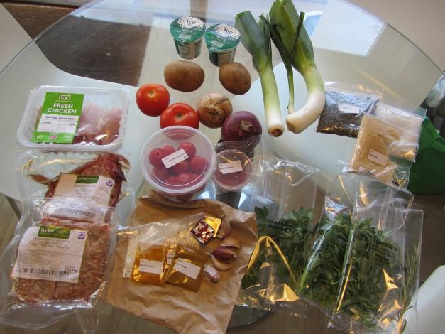 Gousto - Ingredients