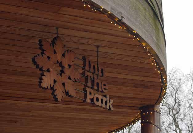 Inn the Park - Signage