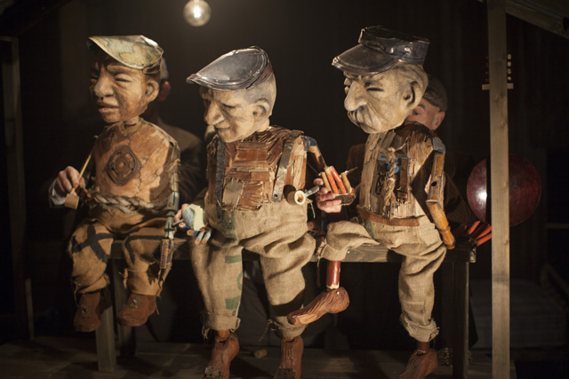 Press picture - The Three Little Men in Grimm Tales, The Bargehouse_credit Tom Medwell