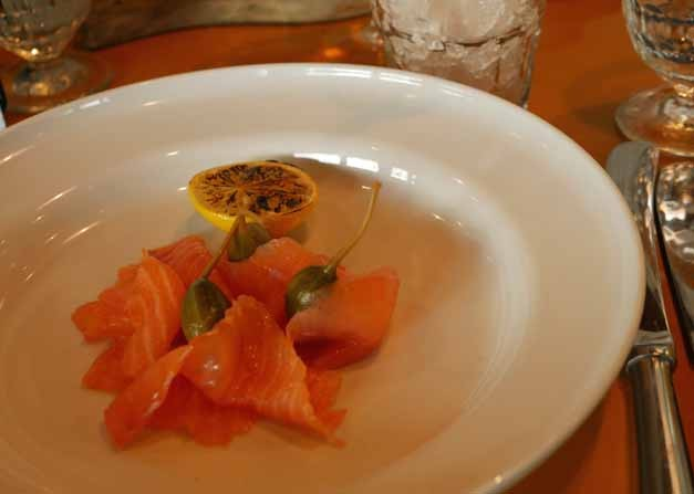Smoked Salmon Inn the Park