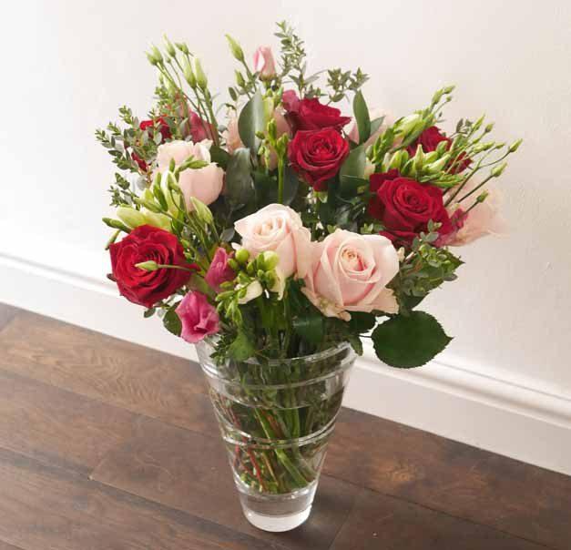 appleyard valentines bouquet