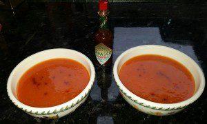 tomato soup made