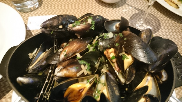 A Kilo of Mussels One Canada Square