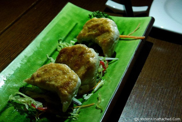 Chinese Cricket Club - dumplings